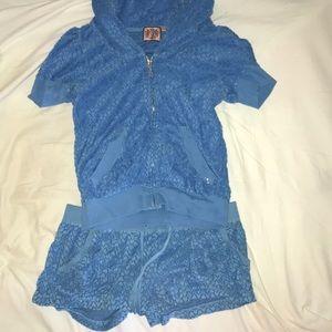 Juicy Couture short sweat suit